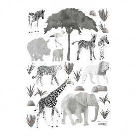 Wallstickers Animaux Sauvages (A3)