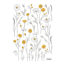 Wallstickers Chamomile (A3)