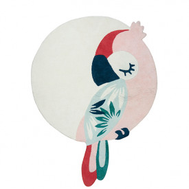 Rug Tropical Parrot - Pink