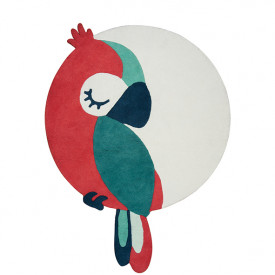 Rug Tropical Parrot - Green