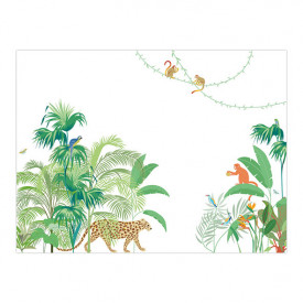 Walldecor Jungle - Green