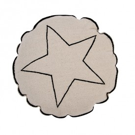 Embroidery Cushion 40cm - Round Star