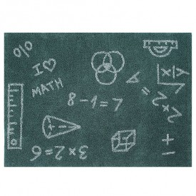 Back to School Rug 140 x 200 cm - I Love Math