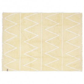 Hippy Rug 120 x 160cm - Yellow