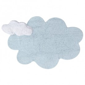 Puffy Rug 110 x 170cm - Dream Blue