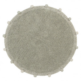Bubbly Rug 120cm - Olive / Natural