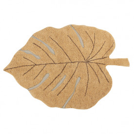 Monstera Rug 120x180cm - Honey