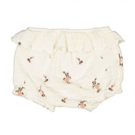 Janelle Bloomers - Off-White/Flowers