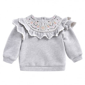 Ludmila Sweatshirt - Heather Grey