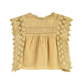 Adolio Blouse - Soft Honey