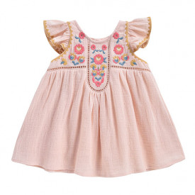 Jendahiu Dress - Blush