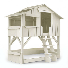 Treehouse Bunk Bed - Solid pine