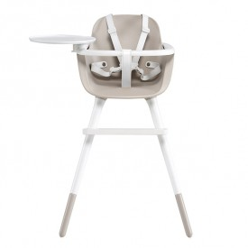 OVO High Chair Luxe - Ice - Taupe