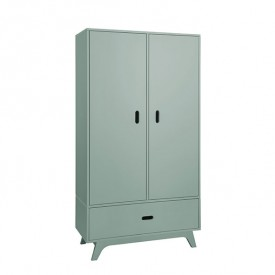 Wardrobe 2 Doors - Green