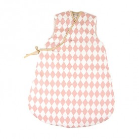 Baby Sleeping Bag Montréal - Diamonds - Pink - 9-24 Months