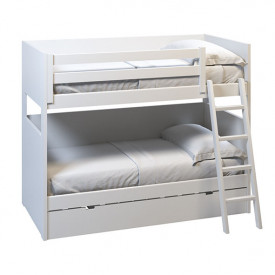 Bunk bed convertible w/ guest bed - 90x200cm
