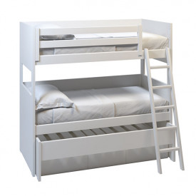 XL Bunk bed Movil w/ trundle bed and drawers - 90x200cm