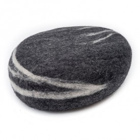 Hugo Felt Stone - Anthracite Grey MyFelt