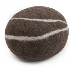 Oskar Felt Stone - Dark Brown