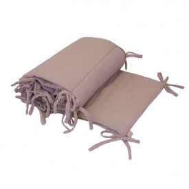 Cot Bumper - Dusty Pink