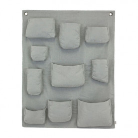 Wall pocket - Silver Grey