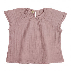 Clara Top - 1-2 Years - Dusty Pink