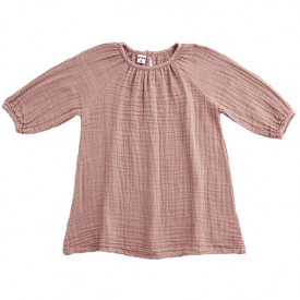 Nina Dress - 1-2 Years - Dusty Pink