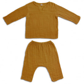 Zac Suit - 1-2 Years - Gold