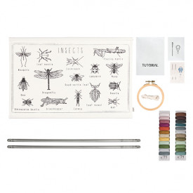 School Poster Kit Insects Canvas