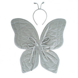 Butterfly Wings - One Size - Silver