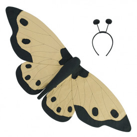Lucy Butterfly Wings - Mellow Yellow