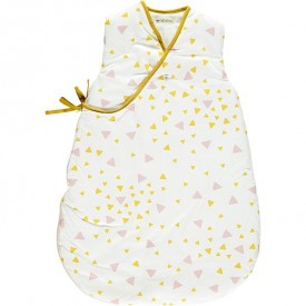 Sleeping Bag Montréal Confetti - Pink & Honey - 0-9 months