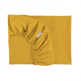 Fitted Sheet Alhambra 90 x 200 cm - Farniente Yellow