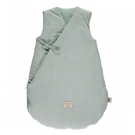 Winter Sleeping Bag Cloud Bubble - Elements - Aqua / White