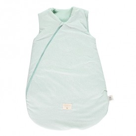 Sleeping Bag Cocoon Bubble - Elements - Aqua / White