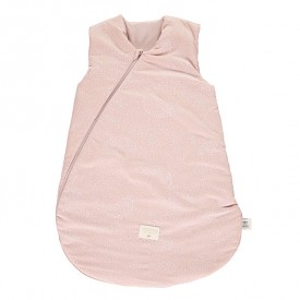 Sleeping Bag Cocoon Bubble - Elements - Misty Pink / White