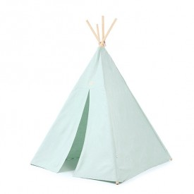 Teepee Phoenix Bubble - Elements - Aqua / White
