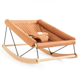 Growing Green Baby Bouncer - Sienna Brown
