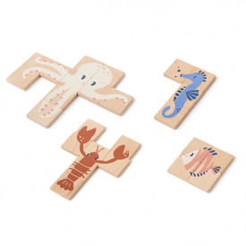 Sea Animals Wooden Puzzle