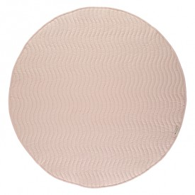 Round Kiowa Carpet Pure Line - Bloom Pink