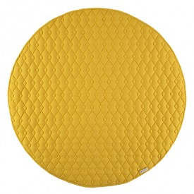 Round Kiowa Carpet Pure Line - Farniente Yellow