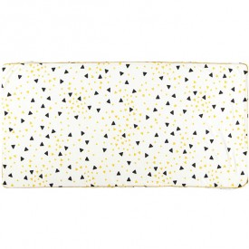 Mattress St-Tropez - Confetti - Black & Honey