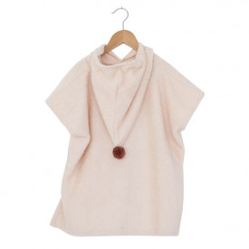 So Cute Poncho - 3-5Y - Pink