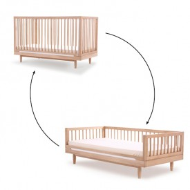 Pure Toddler Bed Conversion Kit - Oak