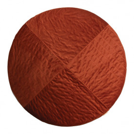 Kilimandjaro Round Velvet Carpet - Wild Brown