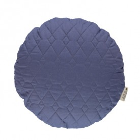 Round Cushion Sitges 45 cm Pure Line - Aegean Blue