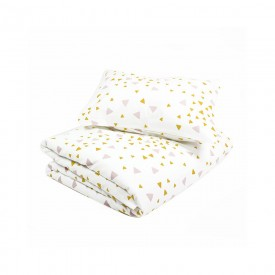Baby bed linen - Toronto - Confetti - Pink & Honey