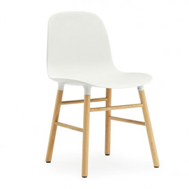 Form Chair - Wood - Color to choose
