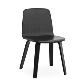 Just Chair - Black Oak