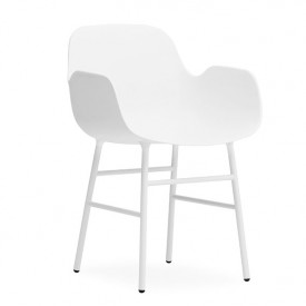 Form Armchair - Steel - Color to choose